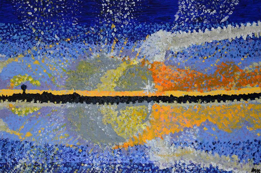Beautiful Sunrise oil painting